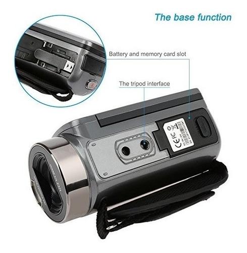 camara de video besteker hd 1080p 24mp 16x digital zoom.
