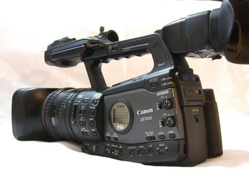 cámara de video canon xf300 hd profesional excelente
