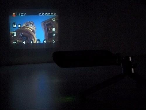 cámara de video con proyector integrado full hd 1080p