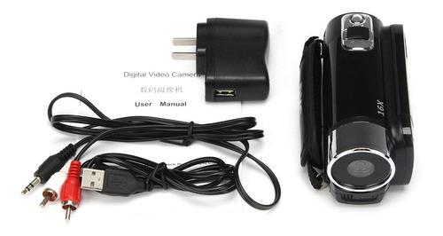 camara de video con zoom digital hd1080p16m16x negro europeo
