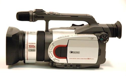 cámara de video digital canon gl1 minidv