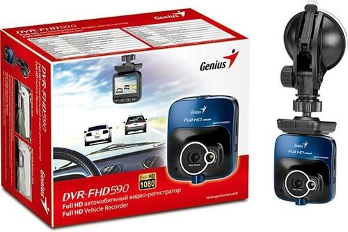 cámara de video genius full hd dvr-fhd590 para vehículos