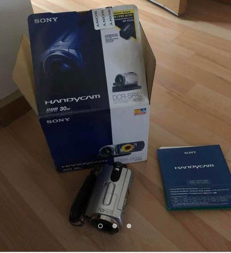 cámara de video handy can sony dcr-sr32 30gb