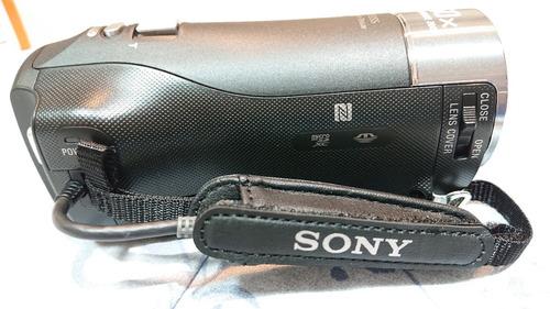 cámara de video hd sony cx440 como nueva, solo se probó