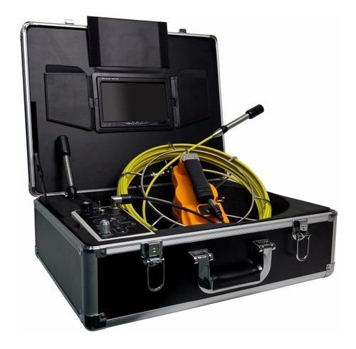 cámara de video inspección de cañerías y tuberías sonda