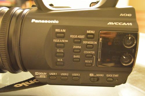 cámara de video panasonic ag-ac90a