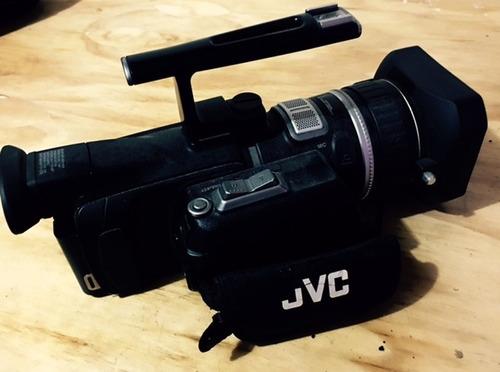 cámara de video profesional jvc