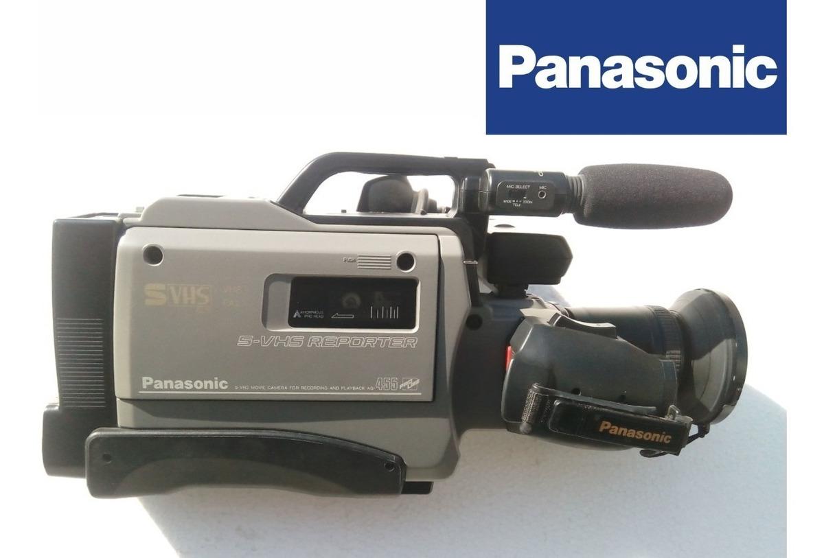 Camara De Video S Vhs Panasonic Ag 455 5 000 00 En Mercado Libre