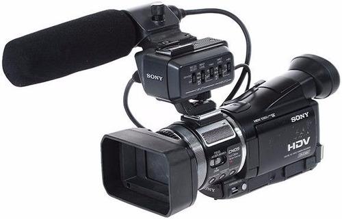 cámara de video sony a1 - hdv y minidv + 2 baterías