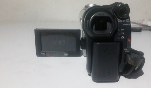 cámara de video sony dcr-dvd308, zomm óptico 25x minidvd