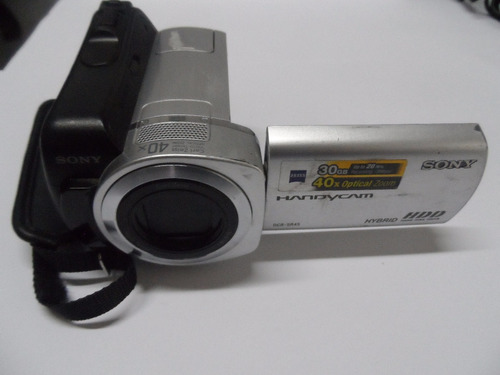 camara de video sony dcr-dvd610 zoom óptico 40x, minidvd