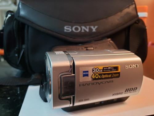cámara de video sony dcr-sr45