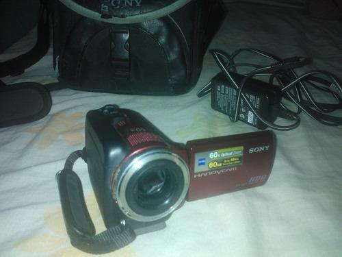 cámara de video sony handycam dcr-sr47 de disco duro 60 gb