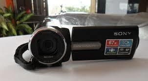 camara de video sony hdmin