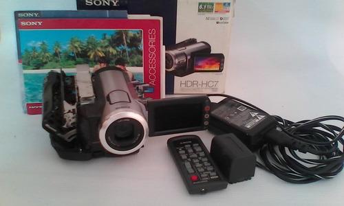 camara de video sony hdr- hc7 casetera dañada