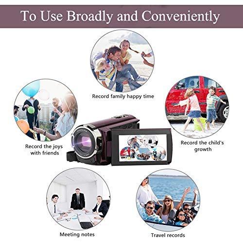 cámara de video videocámara cámara digital aitechny hd 1080p