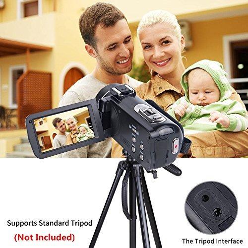 cámara de vídeo videocámara sosun hd 1080p 24.0mp 3.0inch