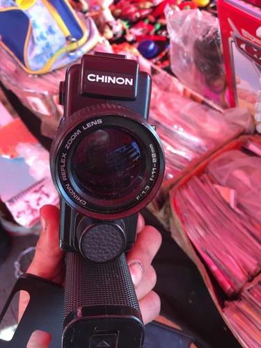 cámara de video vintage marca chinon es japonesa