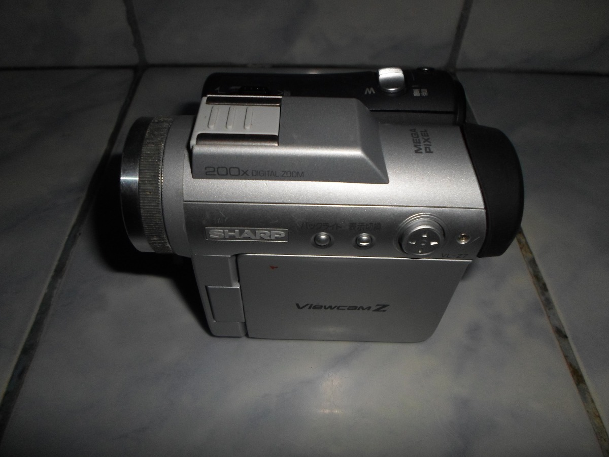 camara de video y fotos/filmadora sharp vl-z7 mini dvd