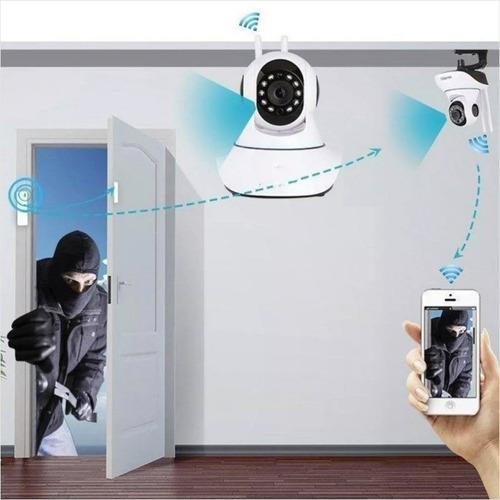 camara de vigilancia 360° inalambrica wifi visión nocturna