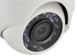 camara de vigilancia, hikvision, analoga, hd720p dome, 2.8-1