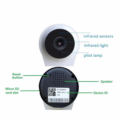 Camara de vigilancia ip inalambrica wifi antirrobo alarma - Camaras de vigilancia ip wifi ...