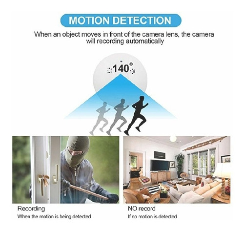 cámara de vigilancia oculta (sensor de humo).