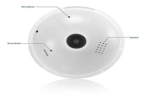 cámara de vigilancia panorámica ip hd ángulo de 360 °g