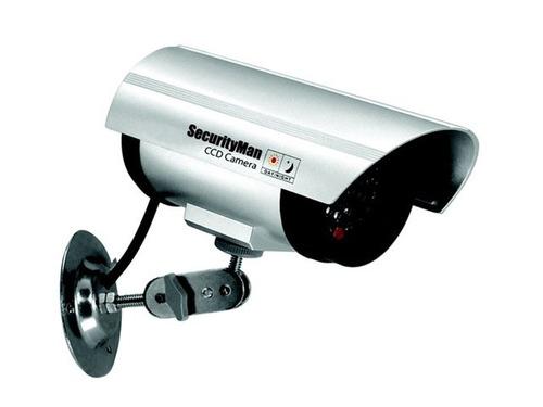 cámara de vigilancia simulada - con led intermitente