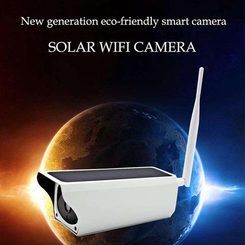 cámara de vigilancia solar wifi totalmente inalámbrica 16gb
