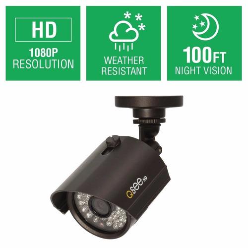 camara de vigilancia sv-cam qth8053b-n 1080p hi def bullet