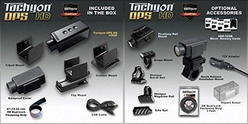 cámara del casco tachyon ops fullhd 1080p