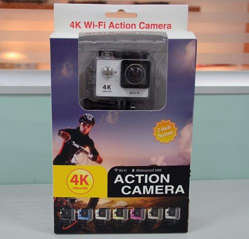 camara deporte accion h9 4k wifi acuatico con 20 accesorios