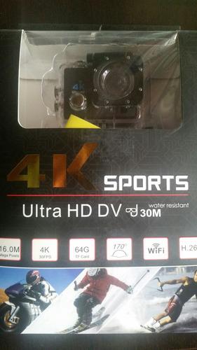 camara deportes accion 4k ultra hd hdmi sumergible+accesorio