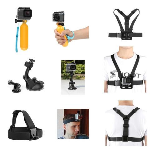 cámara deportes extremos 4k sumergible+ 13 accesorios gopro