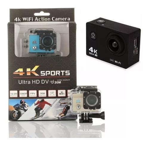 cámara deportes extremos 4k sumergible+ 51 accesorios gopro
