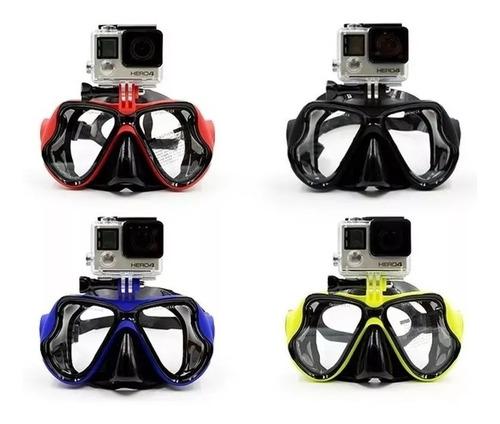 cámara deportes extremos 4k sumergible + snorkel gopro