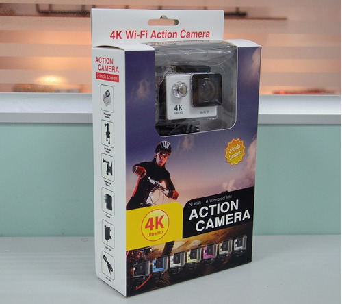cámara deportes extremos 4k wifi action camera ultrahd 1080p