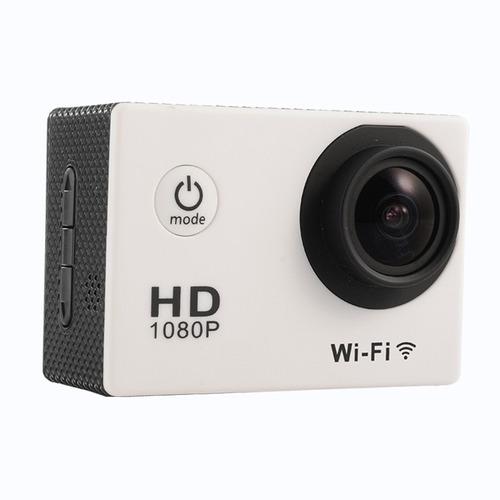 cámara deportiva 1080p full hd wifi waterproof + accesorios