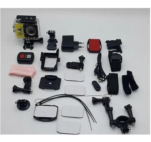 camara deportiva 4k sports ultra hd 16 mpx + control remot