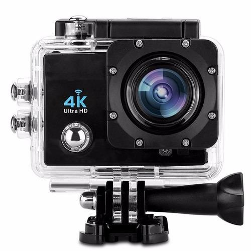 cámara deportiva 4k ultra hd 16mp pantalla 2.0 lente 170°sos
