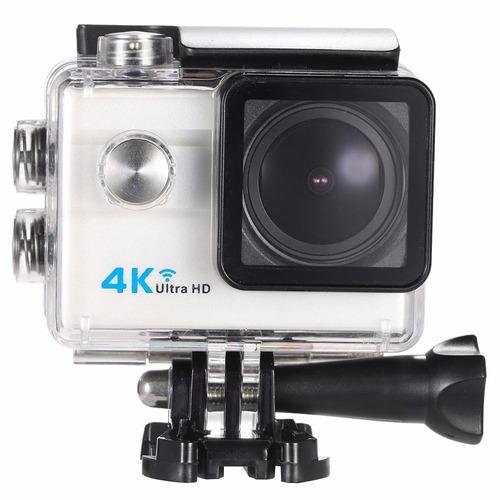 cámara deportiva 4k ultra hd 16mp pantalla 2.0 lente 173°
