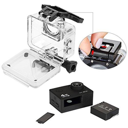 cámara deportiva 4k wifi + control + micro sd 16gb clase x