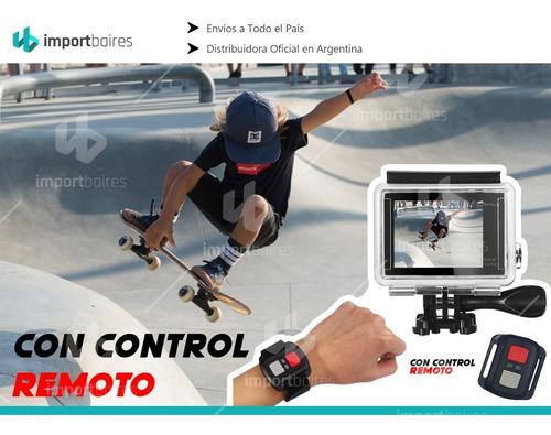 cámara deportiva action go pro 4k fotografia video accesorio