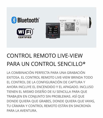 cámara deportiva actioncam hdr-as300r impecable!