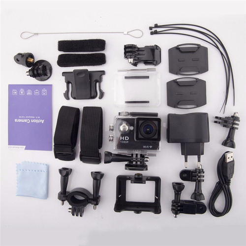 camara deportiva actioncam ultrahd 4k wifi tipo gopro hero 4