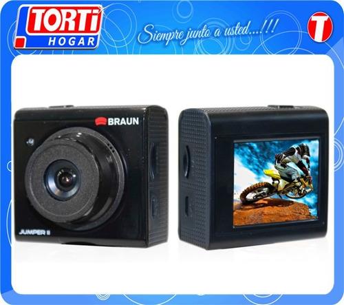 camara deportiva braun action jumper 2 1080p