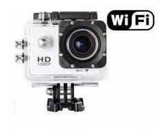 cámara deportiva de acción hd sumergible wifi control