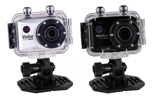 camara deportiva dvr 786hd actioncam 12mpx + kit extremo amv