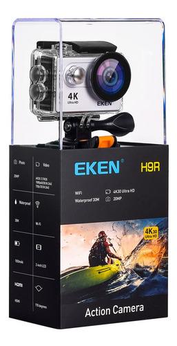 cámara deportiva eken h9r 4k sumergible 30fps wifi plata